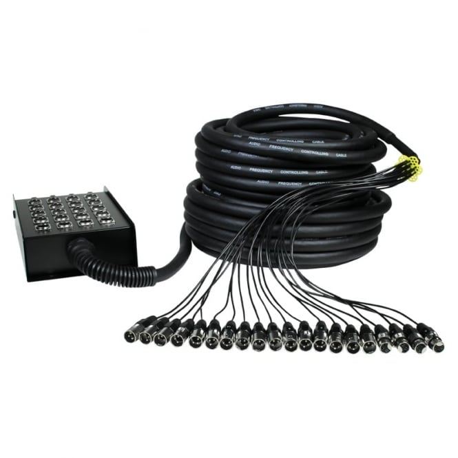 W Audio XLR Multicore 16/4 30m
