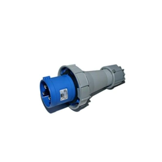 PCE Trailing Plug 63A 2P+E 230V IP67