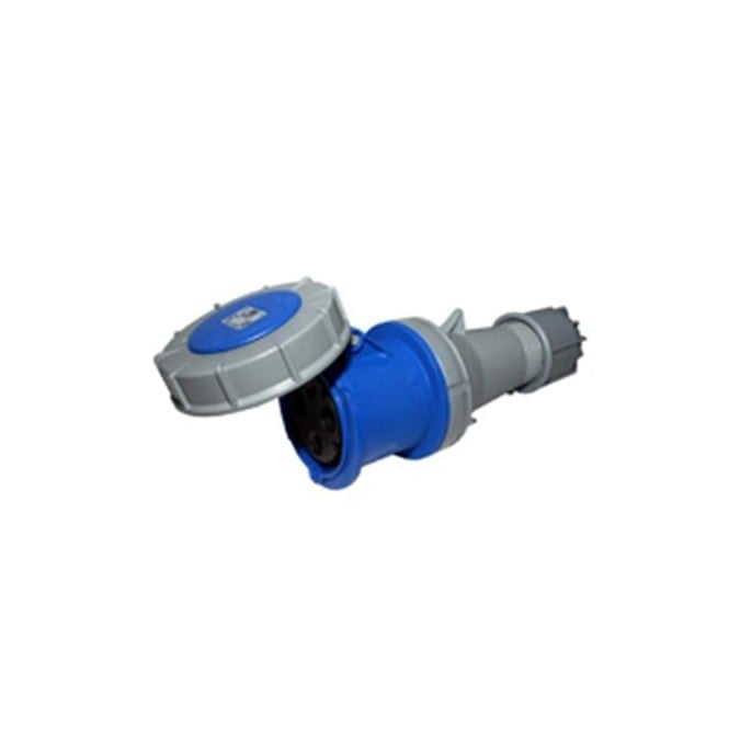 PCE Trailing Socket 63A 2P+E 230V IP67 Watertight