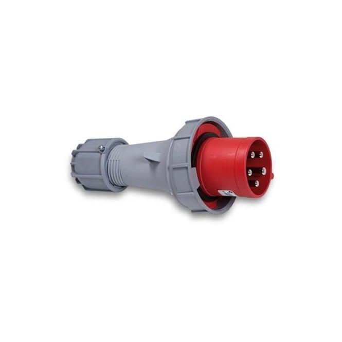 PCE Trailing Plug 125A 3P+E 400V IP67