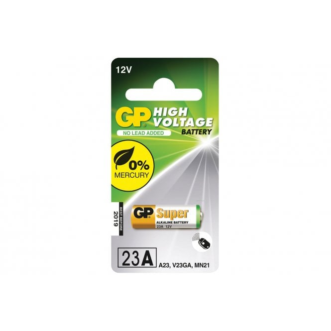 GP Batteries 23AE 12V alkaline battery