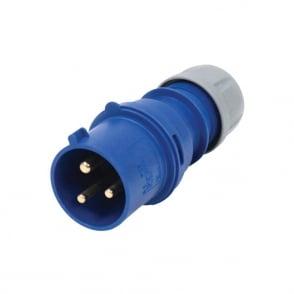 16A 230V 2P+E Plug
