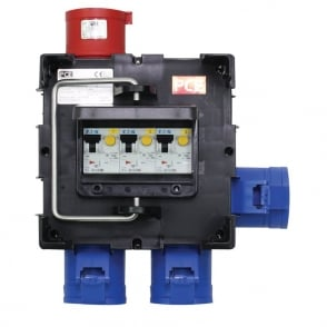 IMST Distribution Box 32A 415V In, 3 x 32A 240V Out (9030183)