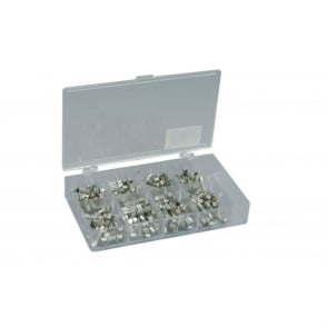 Assortment of 20 x 5mmØ fast blow fuses - 160pcs