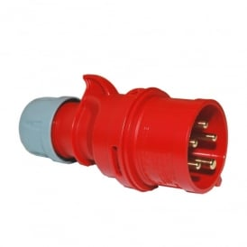 Trailing Plug 32A 3P+E 400V IP44